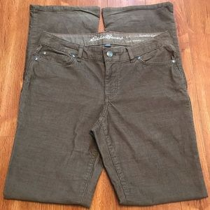 Eddie Bauer Brown Corduroy pants, SZ 6, bootcut